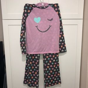 Long sleeve 2-piece pajamas